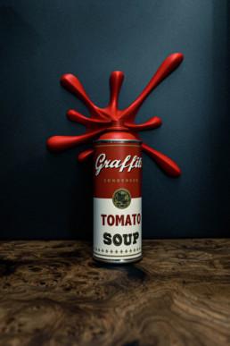 street art tomato soup metis bordeaux