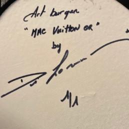 Art Burger Mac Vuitton Or - Di Lorenzo