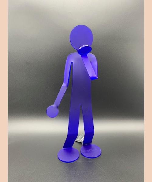 BE LOVER 4 - flexo be lover 4 bleu - David zeller - zed