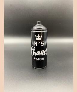 CHANEL NOIRE - vl artiste - street art - bombe Chanel