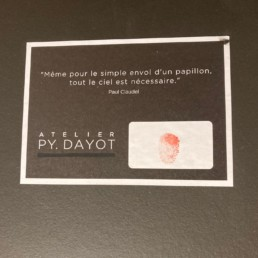 Dollar - Pierre Yves Dayot, 2020, oeuvre d'art signée