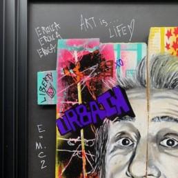 E=MC2 - Nathalie Molla - Street art 2020