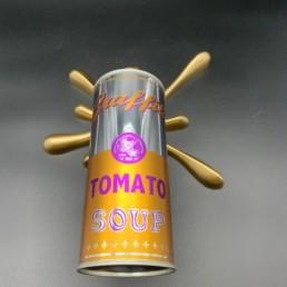 SPALSH GOLD - splash it gold 2FAST - street art - tomato soup