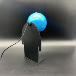 petit TOTO BOWIE - David Bowie - éclair - lampe design - toto
