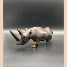 Rhinocéros - Bronze