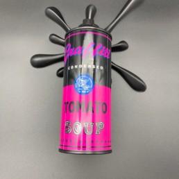Splash it Black Pink - 2Fast - Street art- Andy Warhol