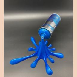 Splash it Blue - 2Fast - Street art - Andy Warhol