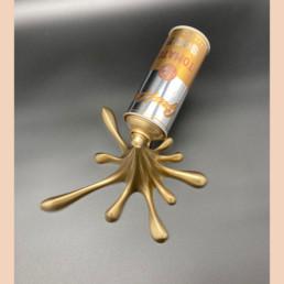 Splash-it-gold - 2Fast - street art - andy warhol