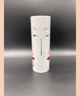 VaseC - lyne fromiga - porcelaine