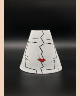 Vase PY - lyne fromiga - porcelaine