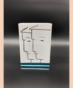 Vase RB - lyne fromiga - porcelaine