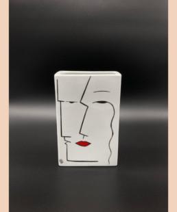 Vase RR - lyne fromiga - porcelaine