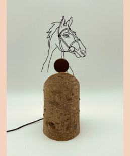 cheval - b vieubled - ombre portée