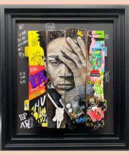 Famous - Nathalie Molla - Street art 2020