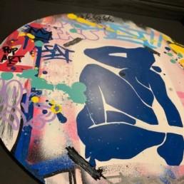 Fat Matisse, oeuvre street art 2020