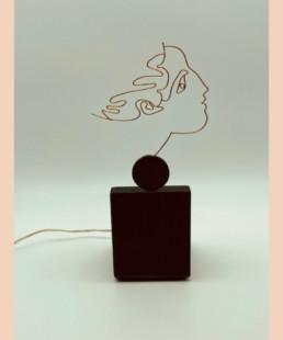 hommage-a-cocteau-dore - b vieubled - ombre portée