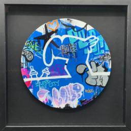 la linea - fat - street art 2020