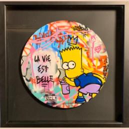 La vie est rebelle, Fat, street art, 2020