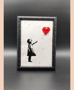 Banksy skull - vl - street art