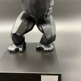 Kiwikong noir mat - orlinski - enceinte chargeur
