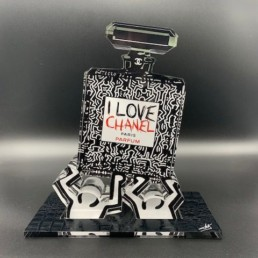 keith haring _ Fred Meurice _ CHANEL N 5