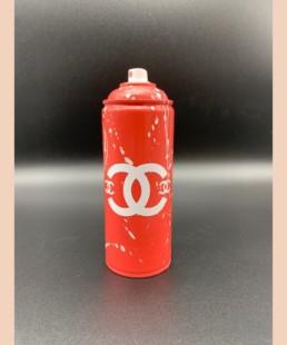 Chanel CC Rouge - vl - street art