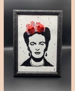 Frida skull - VL - platre