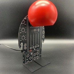 lampe toto computer red - toto - lampe design