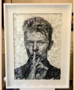 BOWIE DAYOT - David Bowie - pièce unique - papillons