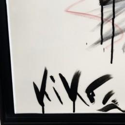 LIBERTE KIKO - fusain - Kiko - pièce unique