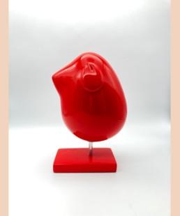 Piaf rouge L - Valerie Marty - Piaf