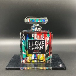 CINDY - Fred Meurice - Cindy Crawford - flacon Chanel numéro 5