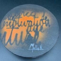 MICKEY ICONIC - Nathalie molla - piece unique - cloche