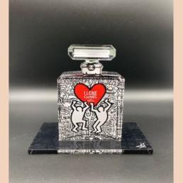 Keith Haring - Fred Meurice - Chanel numéro 5 - flacon parfum
