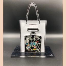 LOVE MICKEY - Fred Meurice - Chanel numéro 5 sac