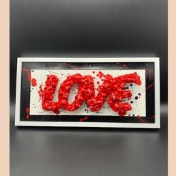 LOVESKULL - VL ARTISTE - tableau love skull