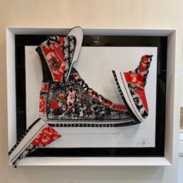 SNEAKER air jordan - tableau Fred Meurice - Jordan