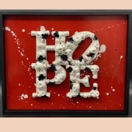 HOPESKULL - vl artiste - hope - street art