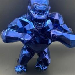KONG BLEU orlinski - kiwikong bleu métallisé - enceinte bluetooth - chargeur téléphone induction