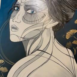 UNFATHOMABLE - caro graffiti art - pièce unique