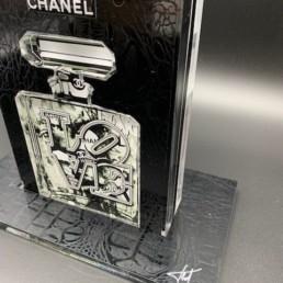 SAC RED MOUTH - fred Meurice - sac chanel n°5 - parfum