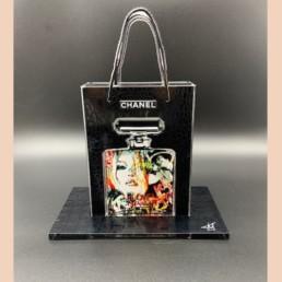 LOVE COCO - fred Meurice - parfum Chanel n°5 - sac Chanel