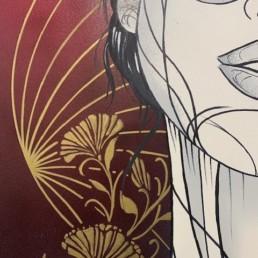 HORIZON - caro graffiti art - pièce unique