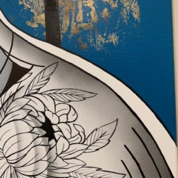 CONTROVERSE - caro graffiti art - pièce unique