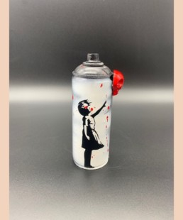 PETITE FILLE AU BALLON- vl artiste - ballon girl banksy