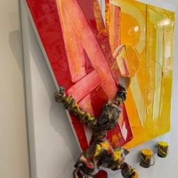 ART PUZZLE - B. saint-maxent - tableau unique
